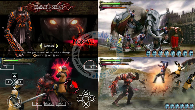 Undead Knight ISO CSO COMPRESS PPSSPP