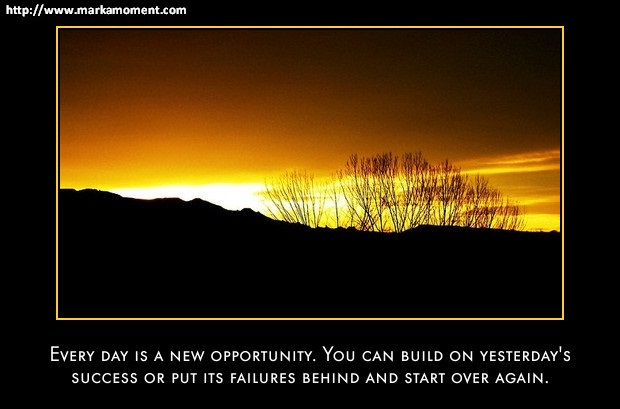 Opportunity Quotes, Markamoment
