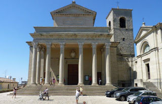 San Marino, Basílica de Marino.