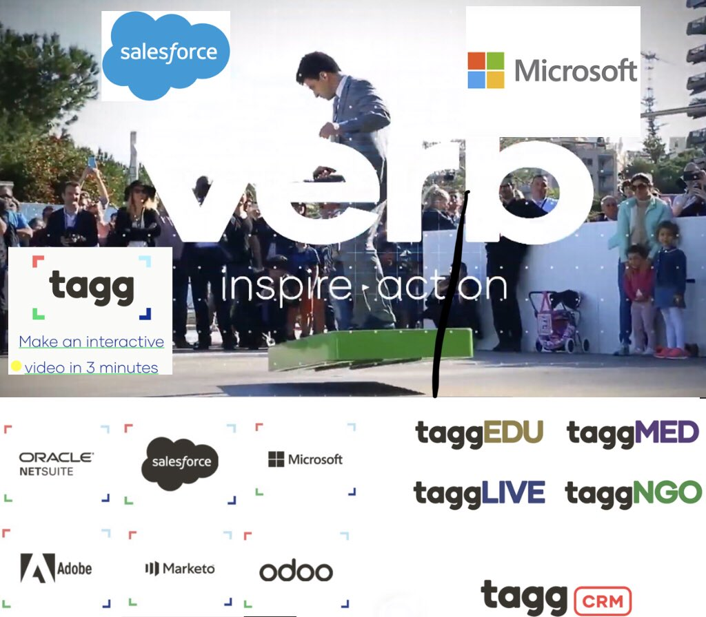 VERB's TaggCRM Interactive Video-Based Mobile App Now Available in
