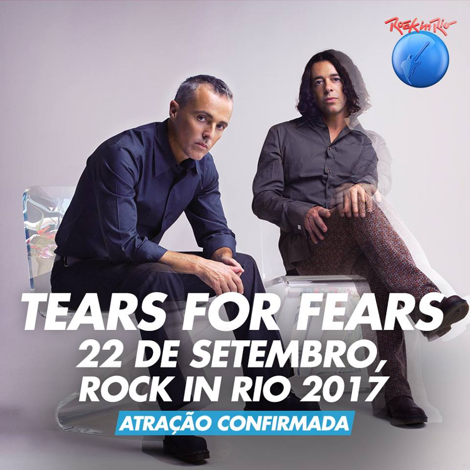 Capa Tears For Fears Palco Mundo Torrent Shows Rock in Rio 2017 Baixar