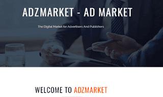 شرح حصري ل adzmarket للربح من الانترنت عن طريق CPM إعلانات  2018