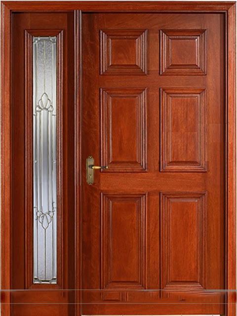 cửa-gỗ-2-cánh-gỗ-lim