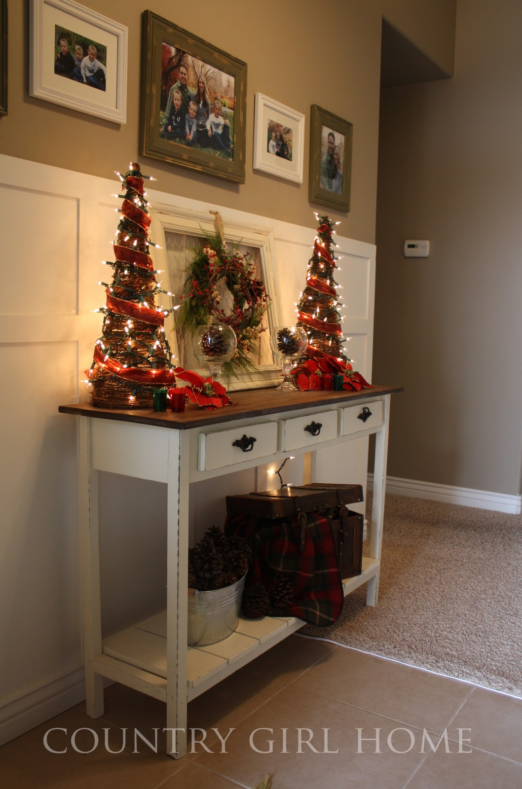 Christmas Decorating Ideas For Sofa Table Mitch Lounger Dfs Country Girl Home More