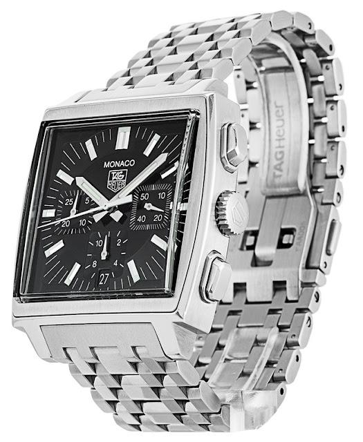 Réplique montres TAG Heuer Monaco Chronographe CW2111.BA0780 La Revue