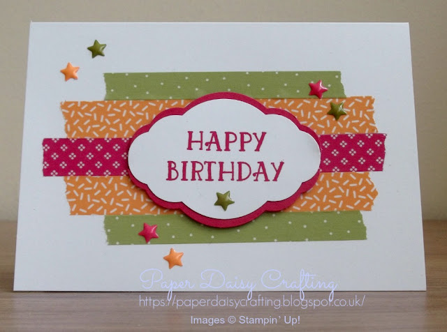 Pretty label punch from Stampin' Up!
