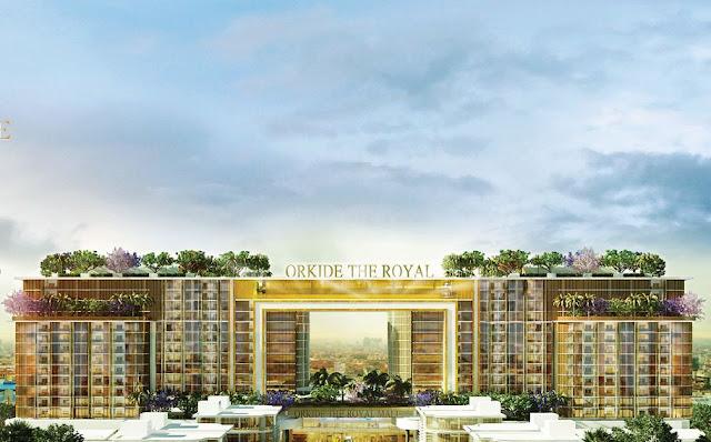 Orkidé the Royal : Nouveau programme immobilier de 400 millions. Photographie fournie
