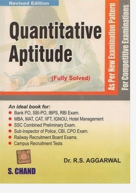 RS Aggarwal quantitative Aptitude ebook/pdf free download