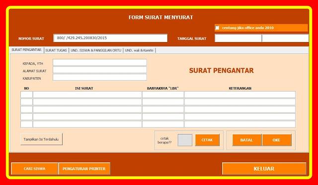 Aplikasi Surat Menyurat Formal Dan Non Formal