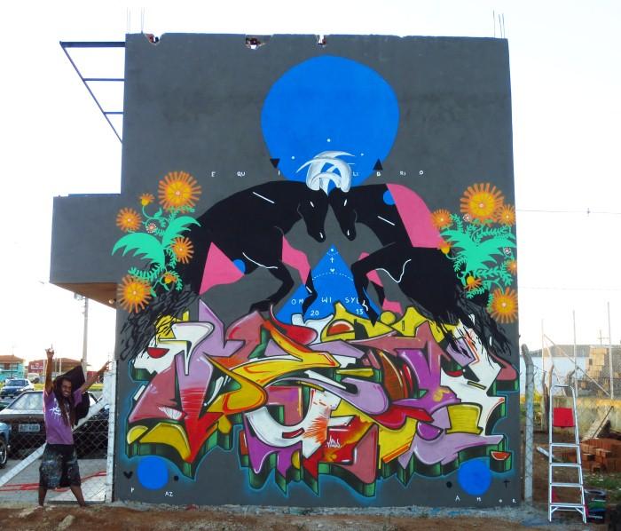 Уличный художник. Zeh Palito 7