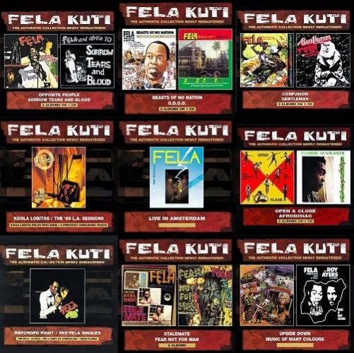 Music is My Medicine: Fela Kuti - Albums Collection [Remasters]
