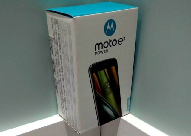 Moto E3 Power Package