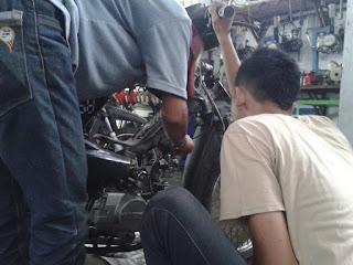 Servis karburator racing