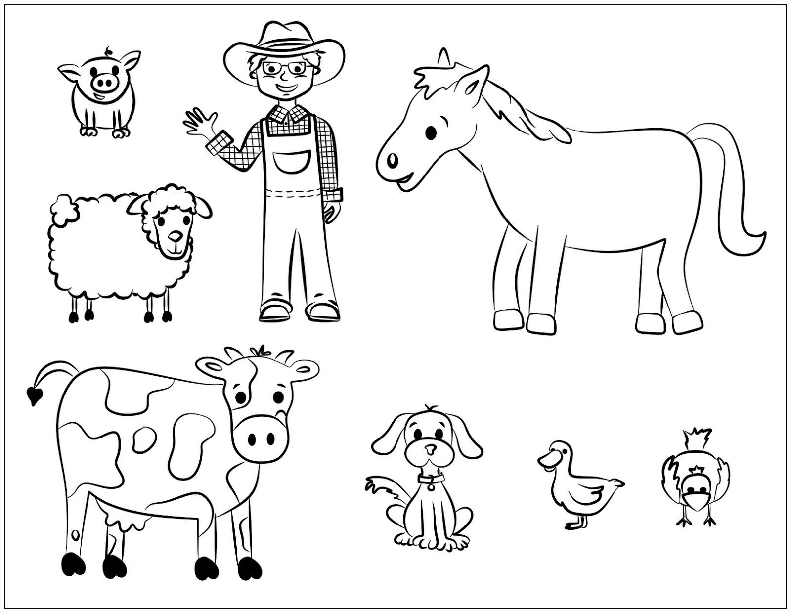 Ausmalbilder Zum Ausdrucken Ausmalbilder Haustiere Zum Ausdrucken