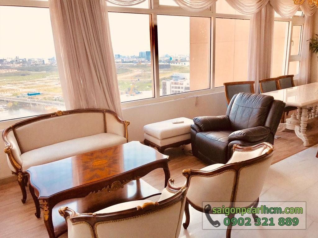 Penthouse cực đẹp và sang trọng tại Saigon Pearl Shaphire cho thuê - hình 5