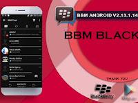 BBM MOD Tema Black v2.13.1.14 Apk Terbaru