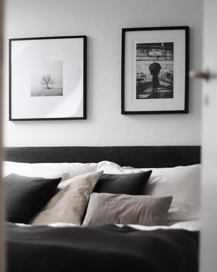 Scandinavian bedroom by Cecilie Krog