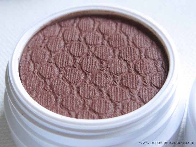 Budget Beauty true reddish brown eyeshadow. Affordable brown eyeshadows online