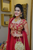 Jenny Honey in Stunning Dark Red Anarkali Dress at Splurge   Divalicious curtain raiser ~ Exclusive Celebrities Galleries 050.JPG