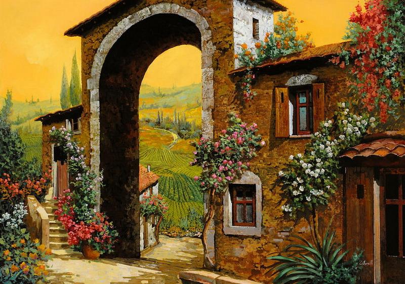 Pintura Moderna Y Fotografía Artística Cuadros Andaluces Paisajes Costumbristas Pinturas Artísticas