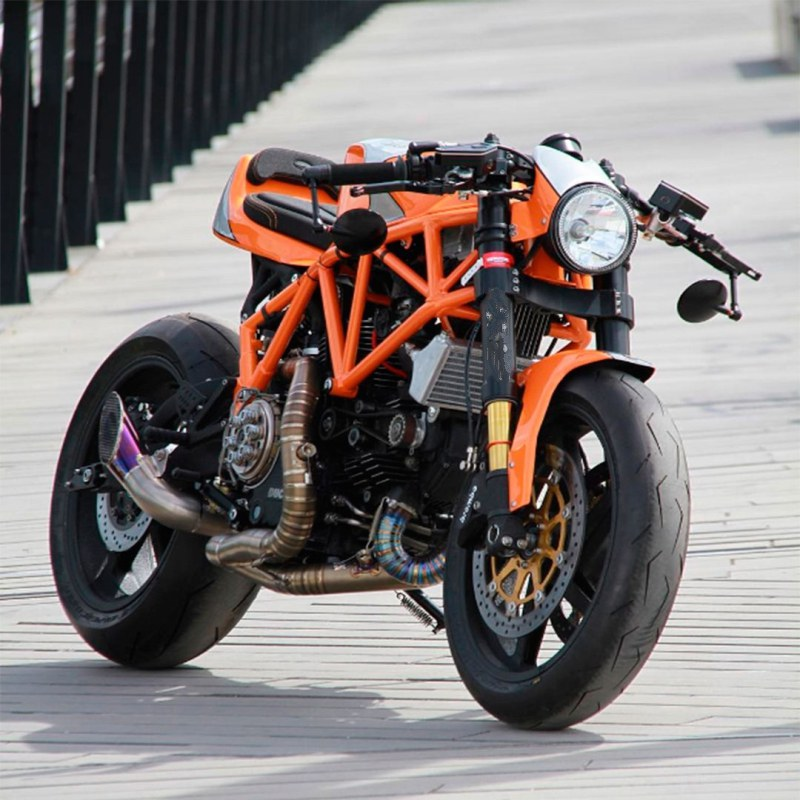 Custom Ducati 900SS by CC Racing Garage