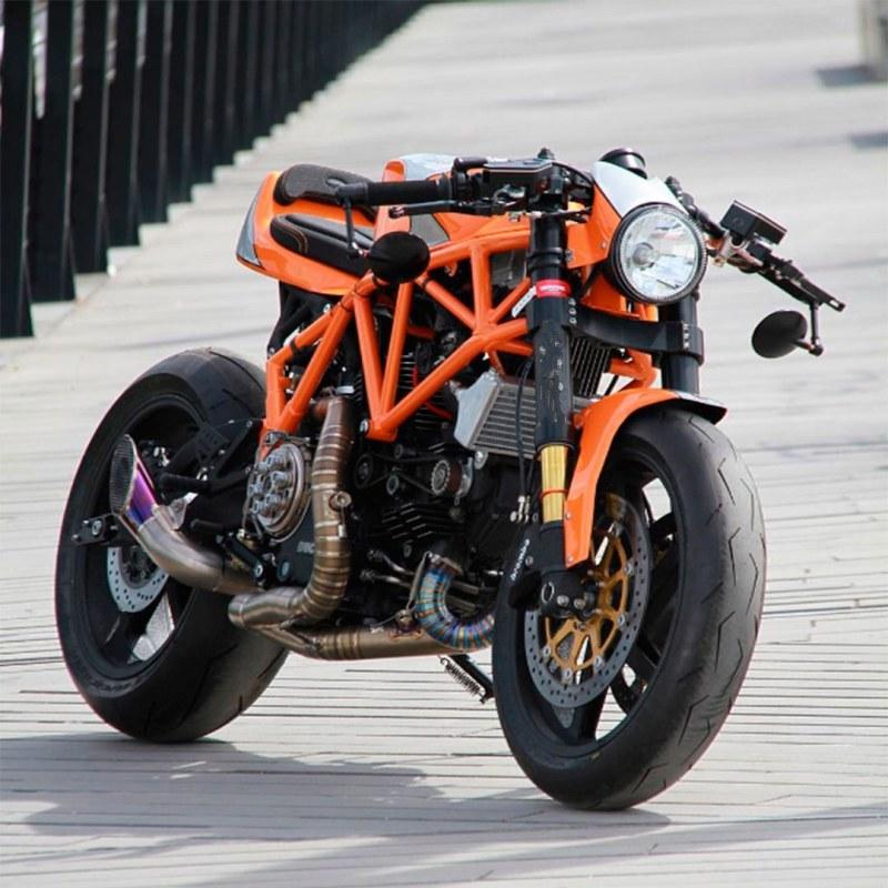 Custom ducati 900ss by cc racing garage my interests for Garage custom moto