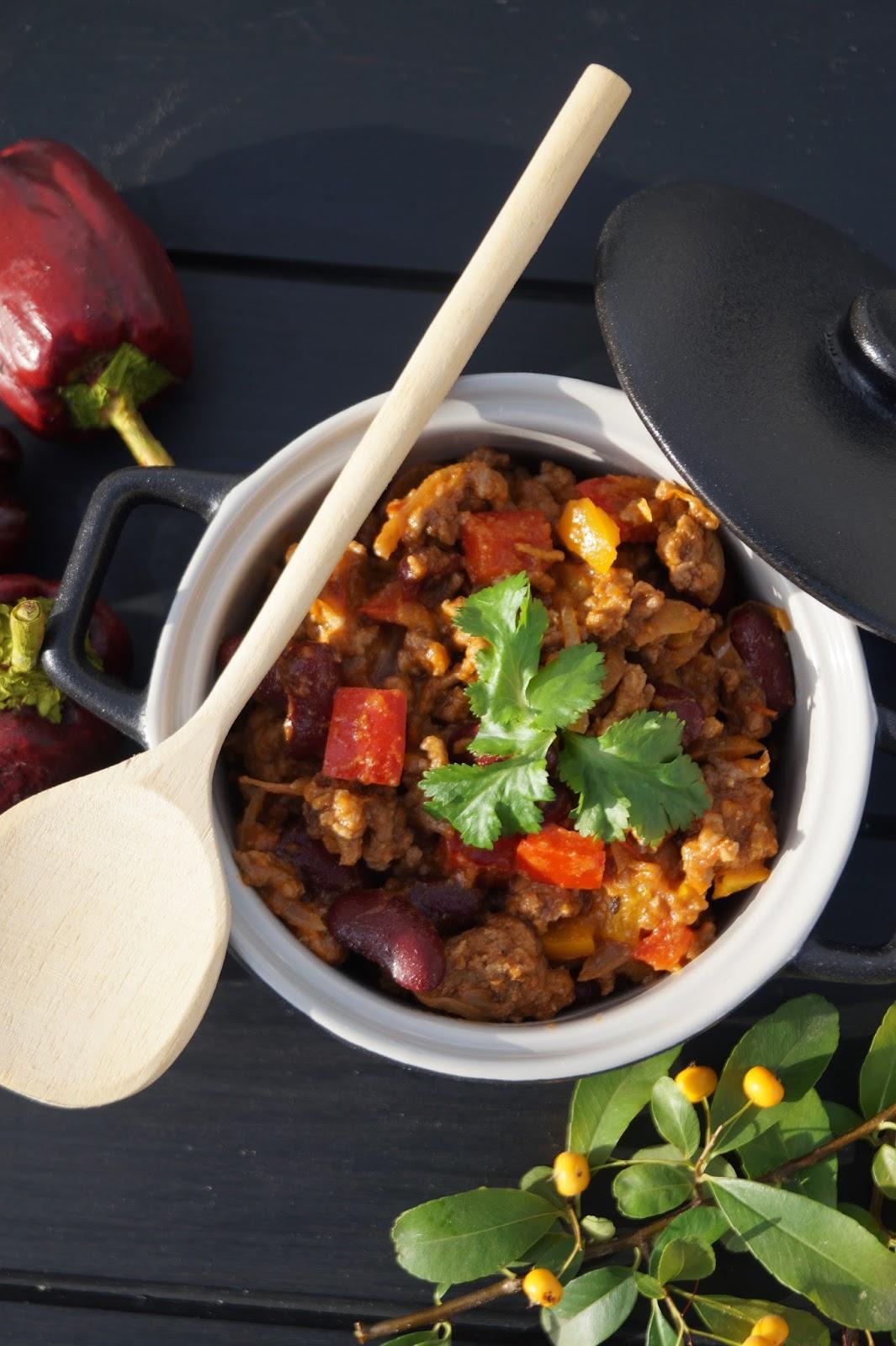 Chili con carne facile et rapide - Chili con carne maison ...