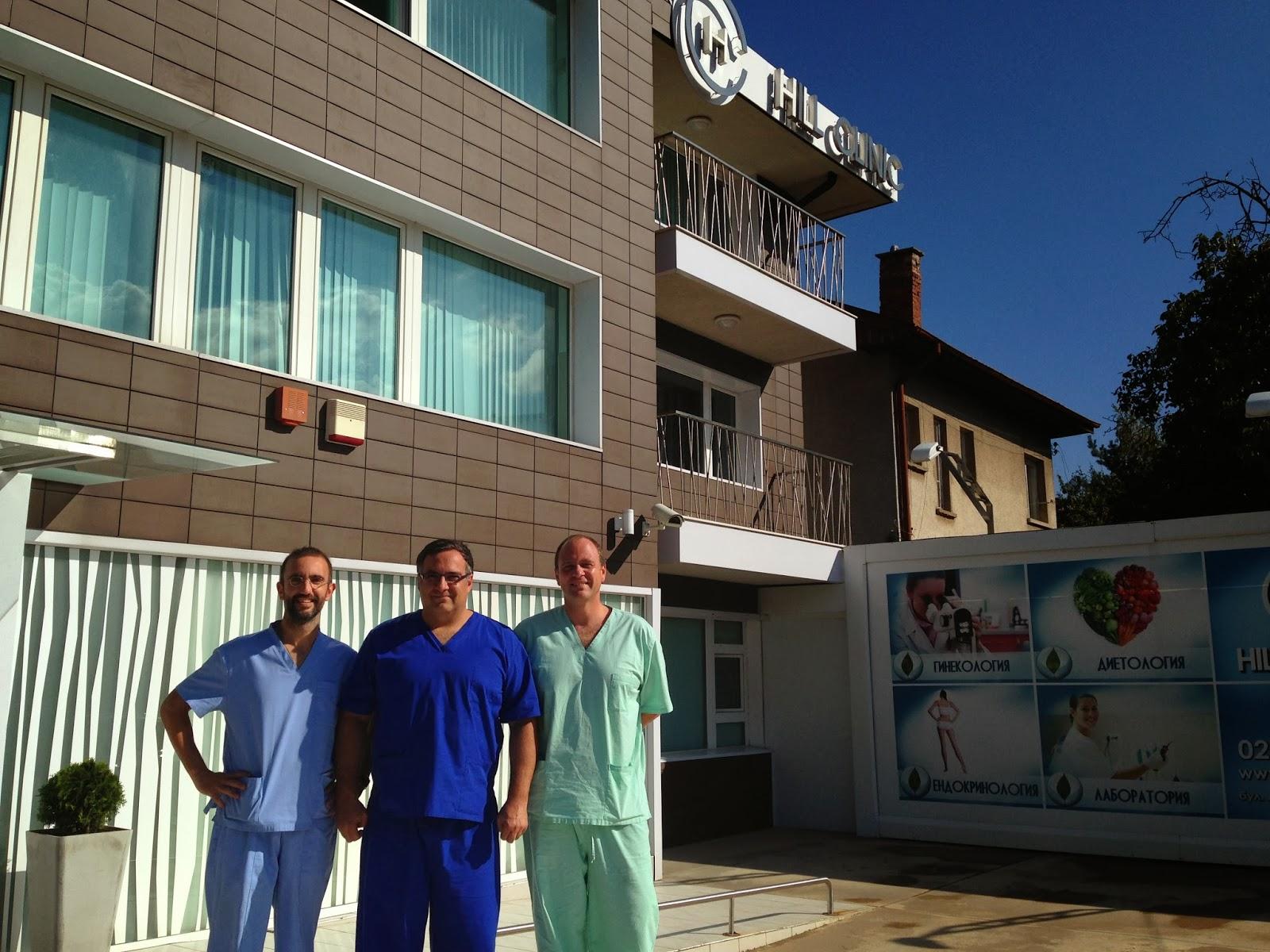 próstata láser verde en una experiencia de un día en modena al