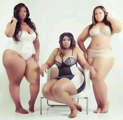 Big and beautiful ladies