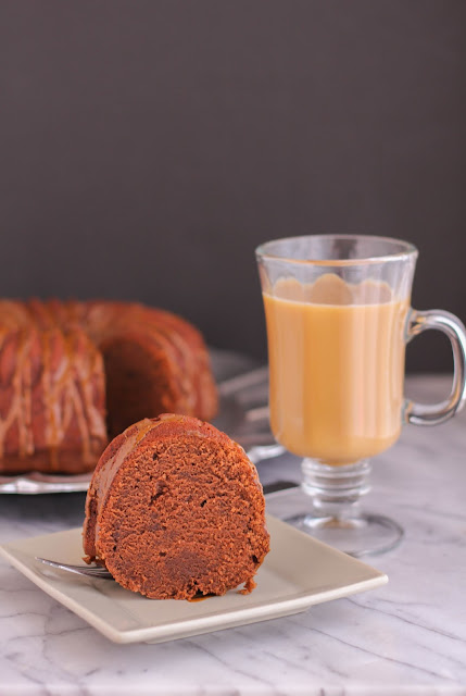 Mochaccino Coffee Cake with Espresso Glaze | The Chef Next Door
