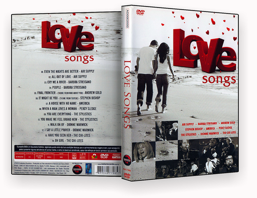 DVD-R – LOVE SONGS – OFICIAL