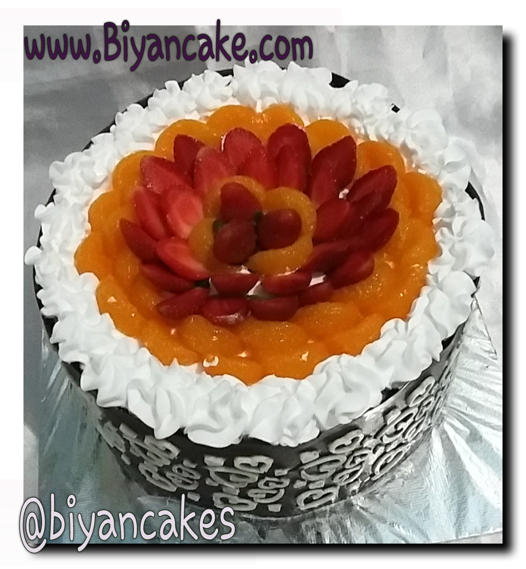 Fresh fruit cake ~ Ahdian