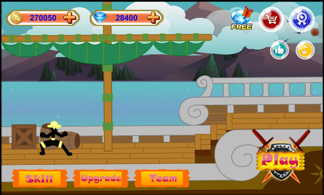 Stickman Hero – Pirate Fight