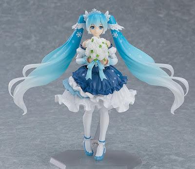 Figuras: Imágenes y detalles del Figma Snow Miku: Snow Princess Ver. - Good Smile Company
