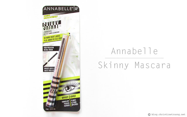 Check out Annabelle Cosmetics Fall 2017 Collection Haul Skinny Mascara by Lash Launcher