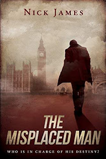 The Misplaced Man - a tongue in cheek mystery kindle book promotion Nick James