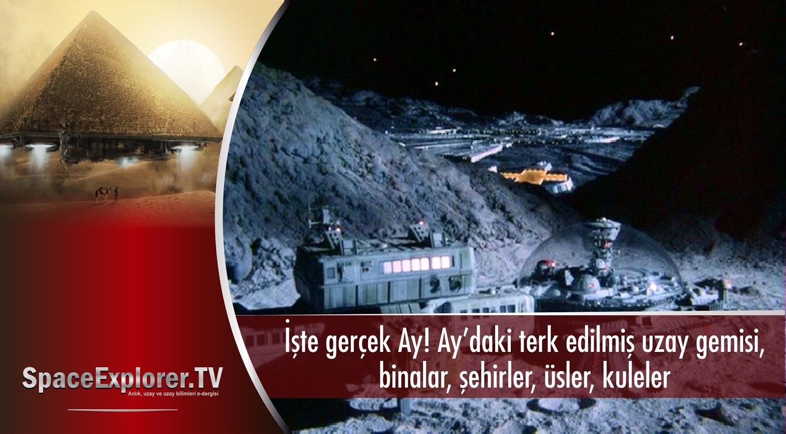 videolar, Ay, Ay'daki gizli üsler, gizli askeri üsler, Gizli uzaylı üsleri, Gizli yer altı üsleri, NASA neden gizliyor, Apollo 18, Ay'daki antik şehir, Uzayda hayat var mı?,