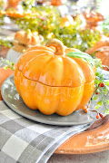 Pumpkin Patch Thanksgiving Tablescape