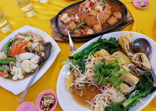 【雪隆美食】蕉赖金禧海鲜饭店 Ken Well Seafood Restaurant @ Taman Kasturi, Cheras| 超大份火山豆腐 + 菜园鸡