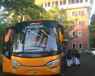 Sewa Bus Pariwisata Seat 50 Jogja