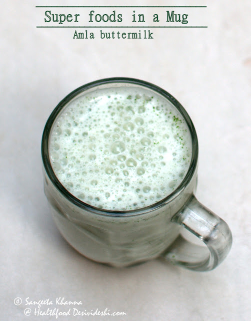 amla herb buttermilk