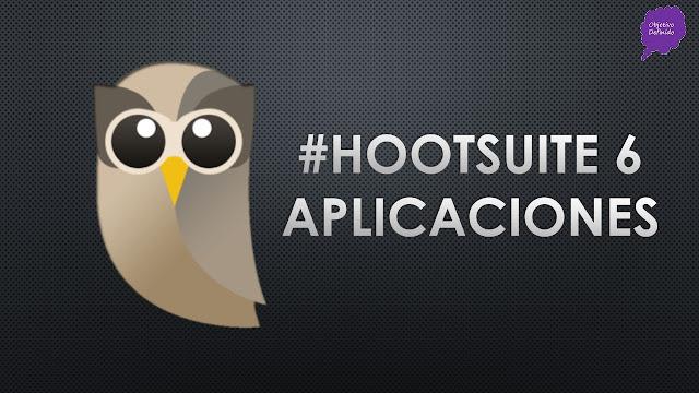 Hootsuite tutorial español 2017: aplicaciones en panel Hootsuite