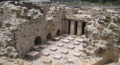 Εγκαινιάζεται το βυζαντινό λουτρικό συγκρότημα της Σπάρτης
