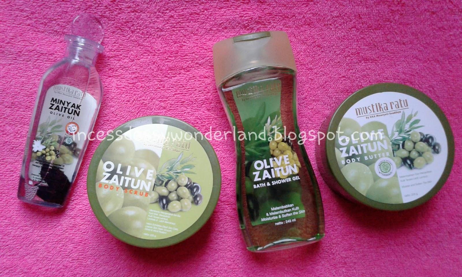 Dessy Journal REVIEW Mustika Ratu Zaitun Body Care