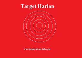 Bisnis, Target, Target Harian
