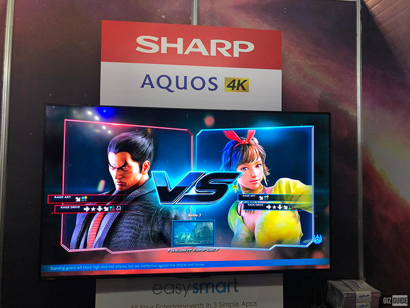 Sharp sponsors all LED TVs in the on-going ESGS 2018