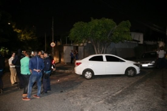 Assalto no Dionísio Torres termina com suspeito baleado