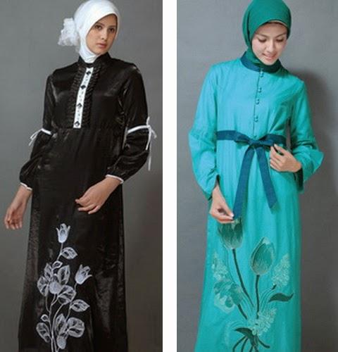gambar model baju gamis modern