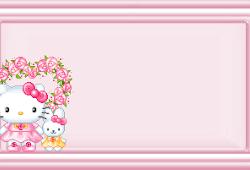 da7db8a66 hello kitty - Hello Kitty Frame Design
