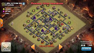 base war th 9 terbaru bomb tower